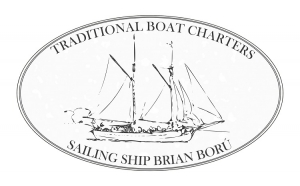 boru boru sailing ship logo